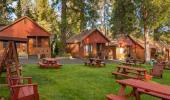 Cedar Glen Lodge Hotel Patio