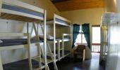 Clair Tappaan Lodge Hotel Room with Single Bunk Beds
