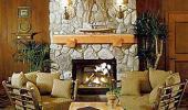Hyatt High Sierra Lodge Hotel Fireplace