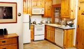 Red Wolf Lakeside Lodge Hotel Kitchen of Studio Unit