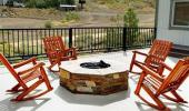 Red Wolf Lodge At Squaw Valley Hotel Outdoor Fireplace