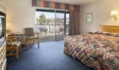 Super 8 Hotel Bedroom