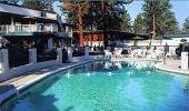 Lake Tahoe Ambassador Lodge Hotel Pool Area