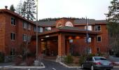 Truckee Donner Lodge Hotel Parking Lot