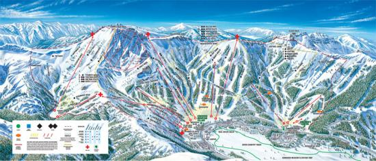 Kirkwood Mountain Resort Trail Map