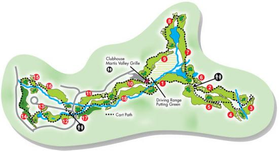 Northstar California Golf Course Map