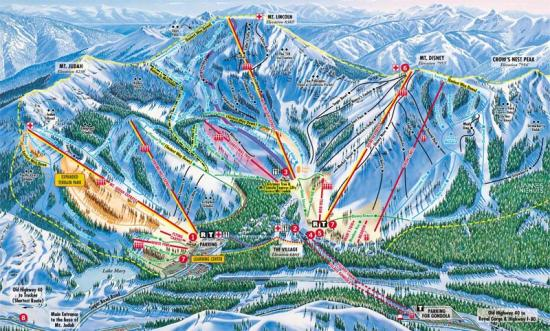 Sugar Bowl Trail Map