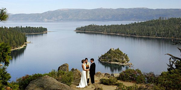 Lake of the Sky Weddings Lake Tahoe California