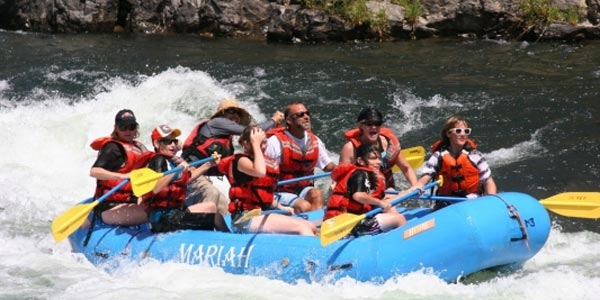Mariah Wilderness Expeditions River Rafting Tahoe