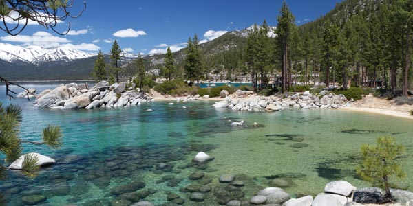 Sightseeing Attractions in Lake Tahoe – Tourist Attractions Map In Nevada