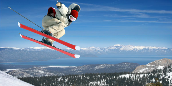 Skiing Lake Tahoe California
