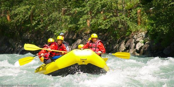River Rafting Truckee River Lake Tahoe