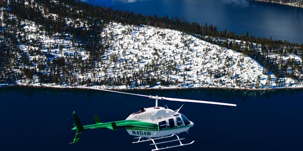 Helicopter tours Lake Tahoe