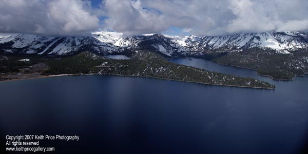 Helicopter tours in Lake Tahoe
