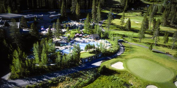 Squaw Creek Resort Golf Course Squaw Valley CA