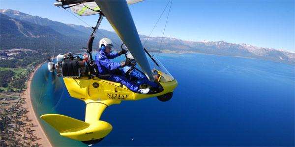 Hang Gliding Lake Tahoe CA