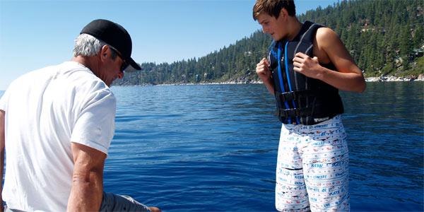 Sierra Wave Addicts Wakeboard Incline Village Nevada