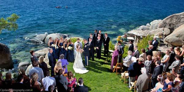 Thunderbird Preservation Society Weddings Lake Tahoe CA