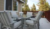 5 Star Luxury Cabin Porch
