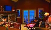 Hyatt Regency Lake Tahoe Resort Hotel Guest Suite Living Room