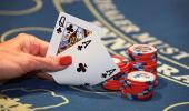 Lakeside Inn and Casino Blackjack Table