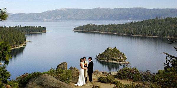 Lake of the Sky Weddings Lake Tahoe California