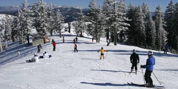 Go skiing in Lake Tahoe CA