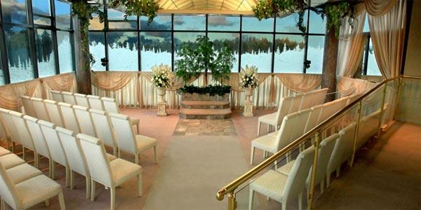 The Wedding Chapel at Harveys Lake Tahoe CA